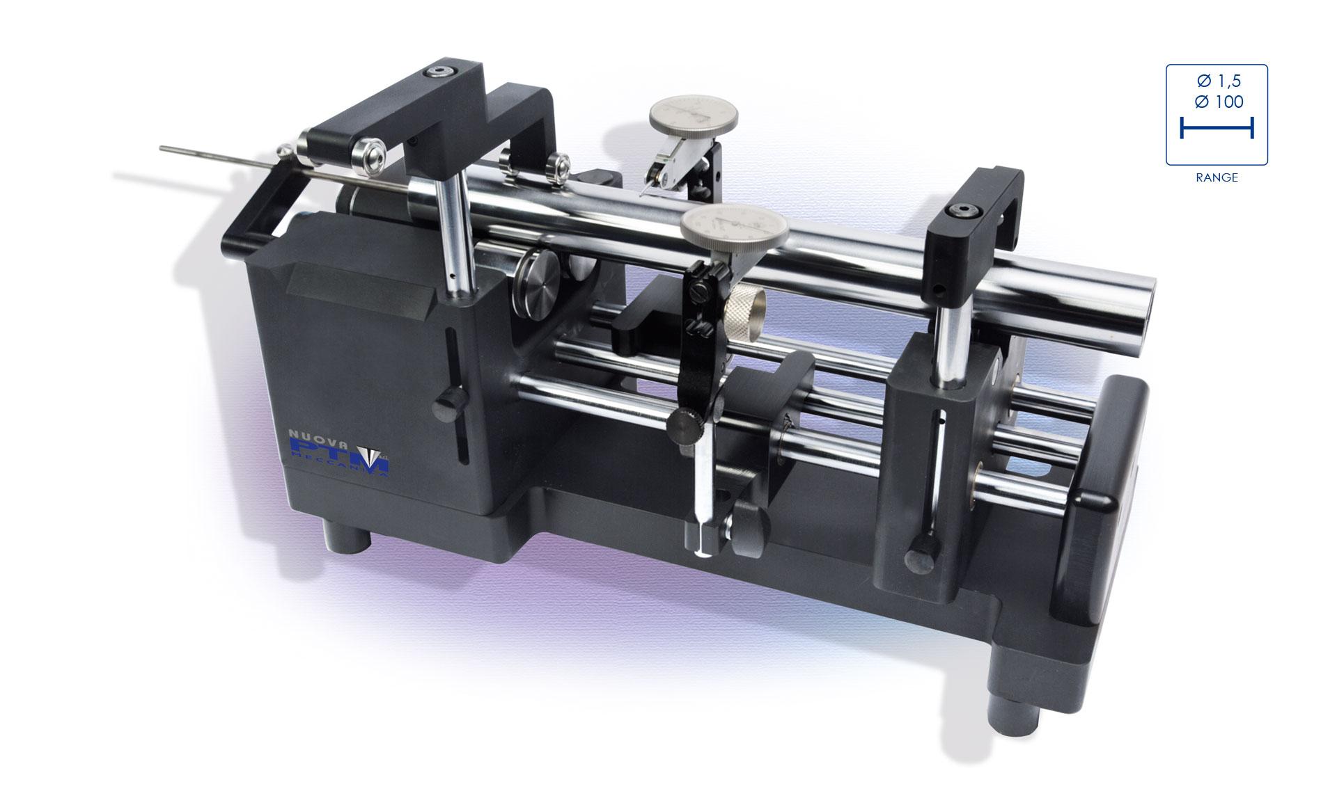SM DS, banco di controllo concentricità - nuova ptm meccanica