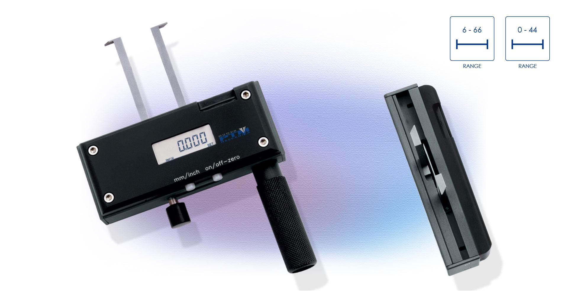 Strumento digitale per misurazioni interne/esterne di Seeger con becche disassate  IR S o con becche in asse IR SE - PTM